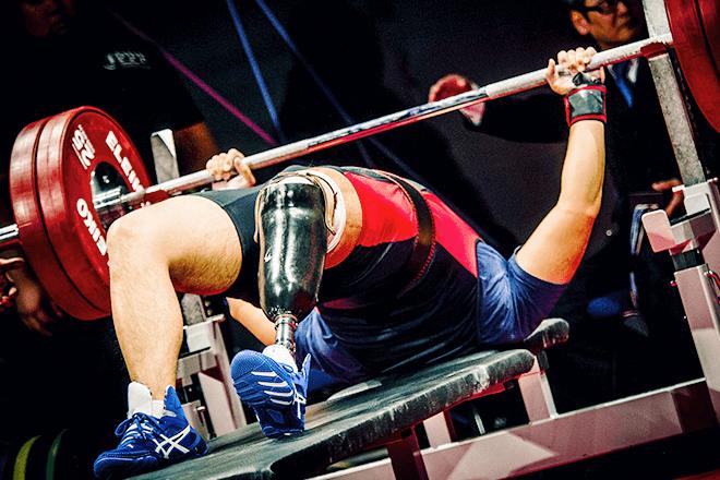 パラスポーツ重量挙げ